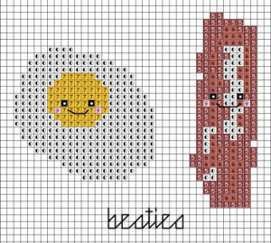 bacon-and-eggs-cross-stitch-freebie-preview