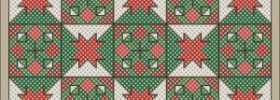Merry Holiday Free Cross Stitch Pattern from Connie Gee Designs