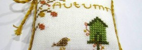 Autumn Free Cross Stitch Pattern from Lynn B